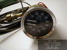 Öldruckanzeige, Temperaturanzeige (Cels.) MGA/B, Midget, Sprite