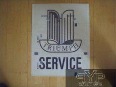Schild Triumph Service