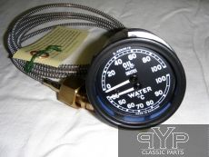 Öldruckanzeige, Wasser-Temperaturanzeige,  Jaguar XK120, XK140