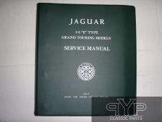 Jaguar Reparaturanleitung, E-Type 3.8