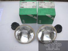 2 Hauptscheinwerfer Lucas 7 Zoll, LUB319 ohne Standlicht