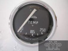 Wasser-Temperaturanzeige, Fahrenheit,  Triumph TR4 früh