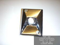 Chromblende für Außenspiegelverstellung, E-Type V12 S3 FHC + DHC