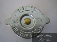 Kühlerdeckel, 4 Lbs., MKII spät, E-Type SI + SII, 3,8 + 4,2 Ltr.